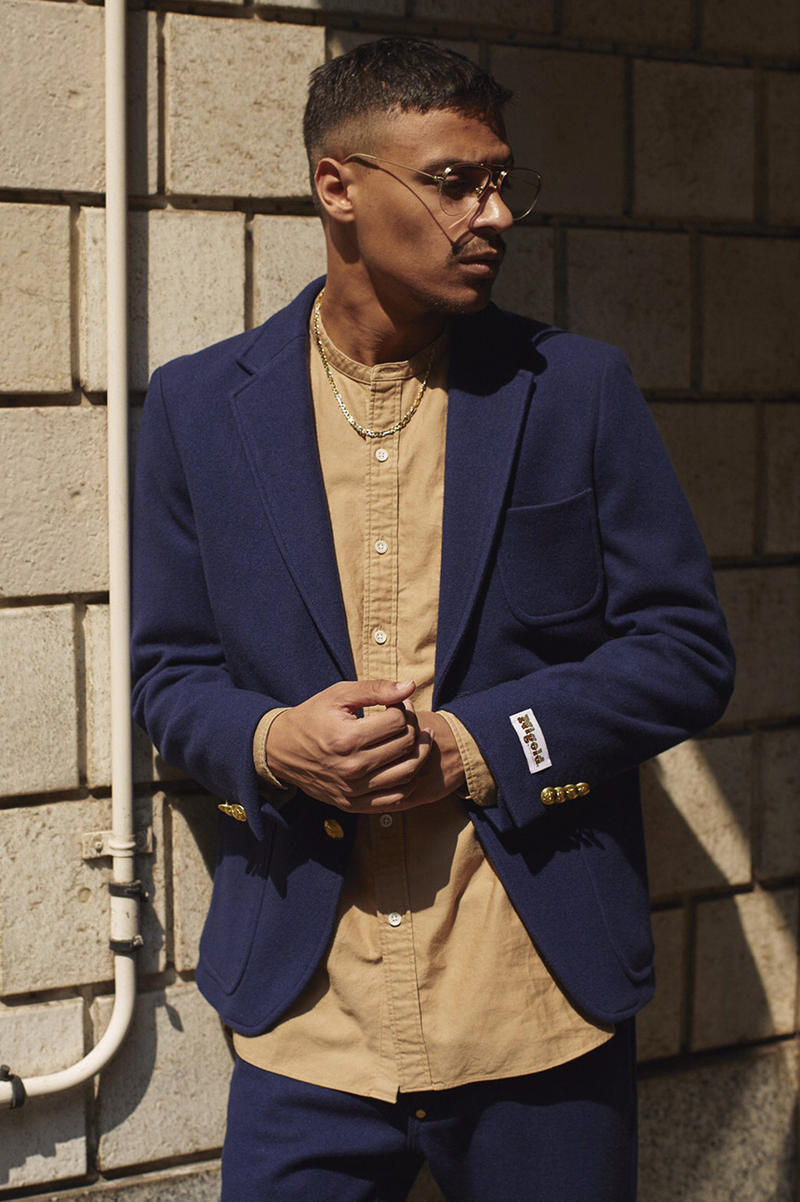 NIGOLD® by UNITED ARROWS 2017 Fall Winter Collection suits menswear ties button up down shirts three piece jacket blazer