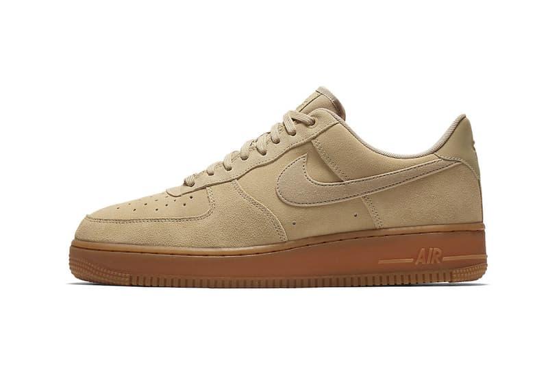 best sneakers fd124 3009c Nike Air Force 1 Low Mushroom Tan Suede Fall Winter 2017