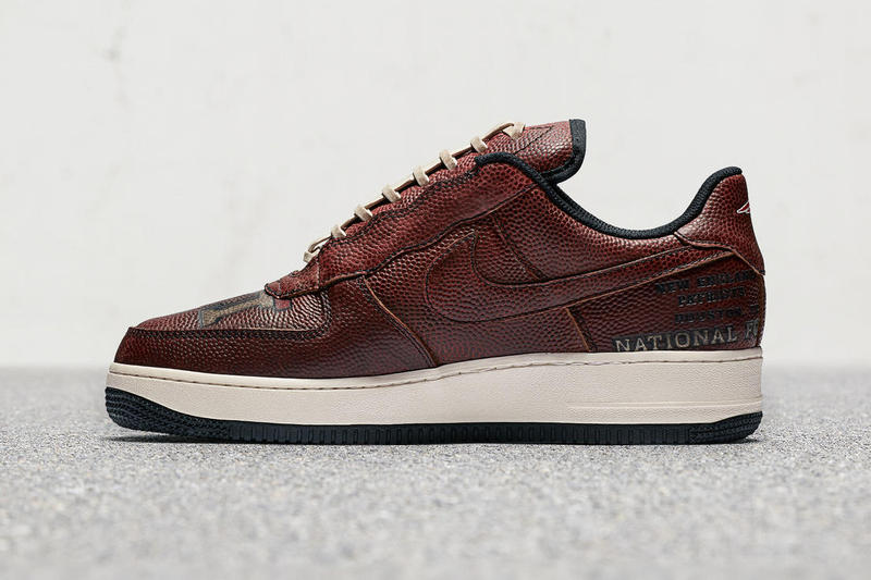 Nike Air Force 1 Low New England Patriots Super Bowl 51 Atlanta Falcons Comeback Footwear Special Edition Release Date Info Drops October 22 Gillette Stadium October 20 21 Auction