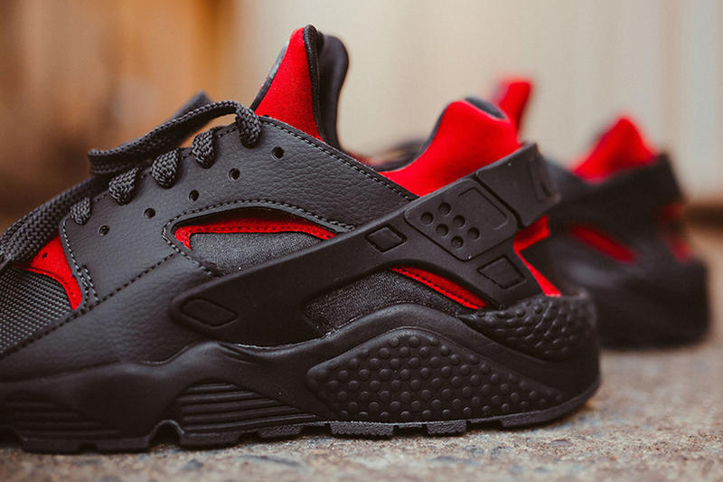 Nike Air Huarache Black Gym Red Bred Fall Winter 2017