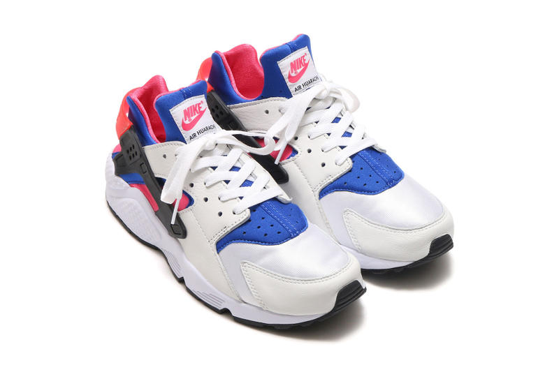buy popular 8f57e 57011 Nike Air Huarache Run '91 QS White/Game Royal | HYPEBEAST