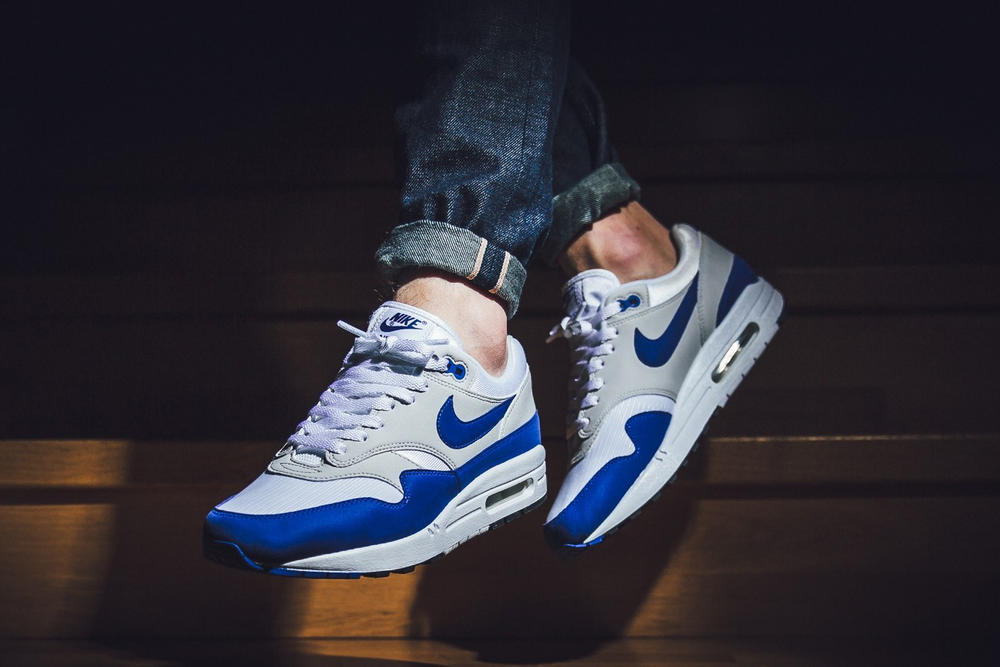 Nike Air Max 1 Anniversary Royal Europe Restock 2017 October 27 Release Date Info Sneakers Shoes Footwear Titolo