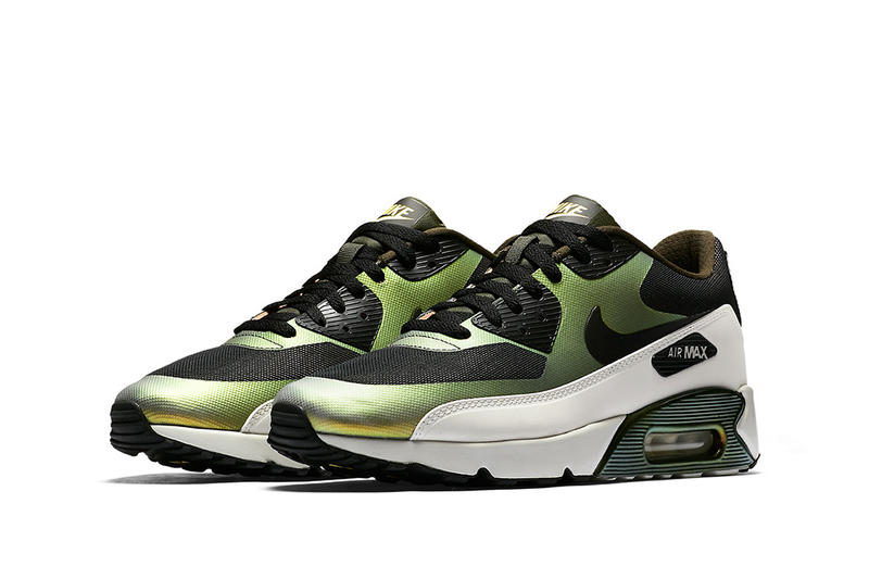 Nike Air Max 90 Ultra 2.0 SE Pale Citron Green Black White