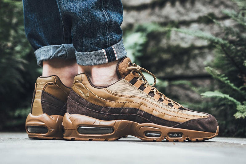 Nike Air Max 95 Premium Baroque Brown Golden Beige Ale Brown Footwear Drops Release Info Date