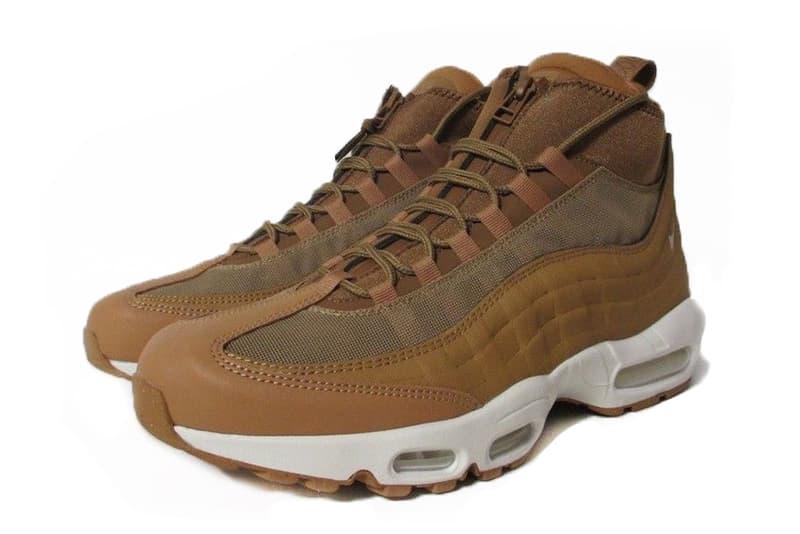 d68a3c54a39477 Nike Air Max 95 Sneakerboot Wheat Fall Winter 2017