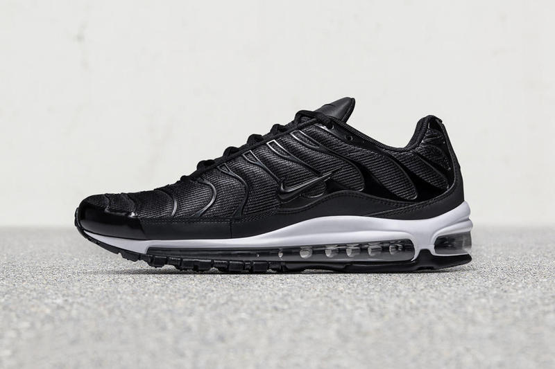 super popular f2cdd 466dd Nike Air Max Plus 97 Black White 2017 October 12 Release Date Info Sneakers  Shoes Footwear