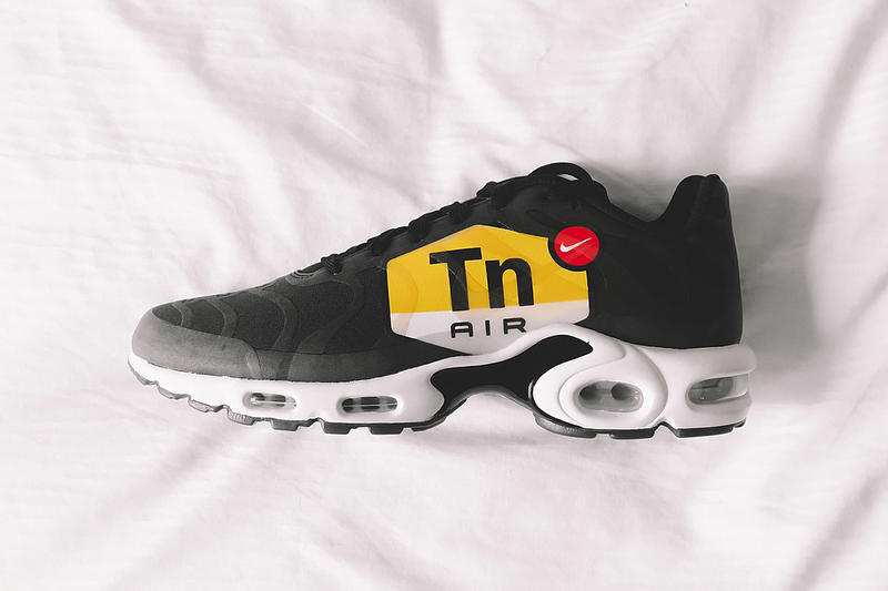 Nike Air Max Plus Oversized TN Logo Preview First Look Sneakers Shoes  Footwear ce49c8644ba5
