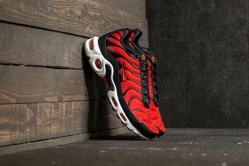 Nike Air Max Plus Team Orange Black 2017 October 31 Halloween Release Date Info Sneakers Shoes Footwear