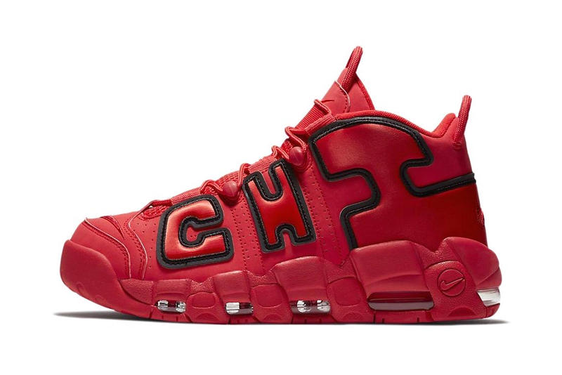 "Nike Air More Uptempo ""CHI"" Footwear Sneakers Shoe"