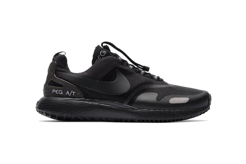 Nike Air Pegasus AT Winter Port Wine Triple Black 2017 October Fall Release Date Info Sneakers Shoes Footwear Bows Arrows Berkeley