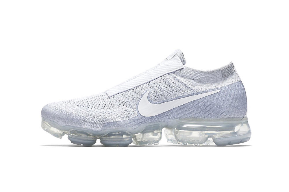 Nike Air Vapormax Laceless 2017 December 1 Release Date Black White Sneakers Shoes Footwear