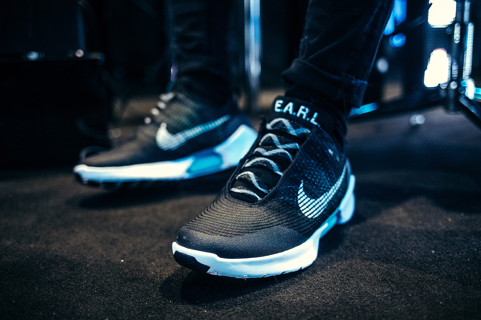 Tinker Hatfield Nike HyperAdapt London