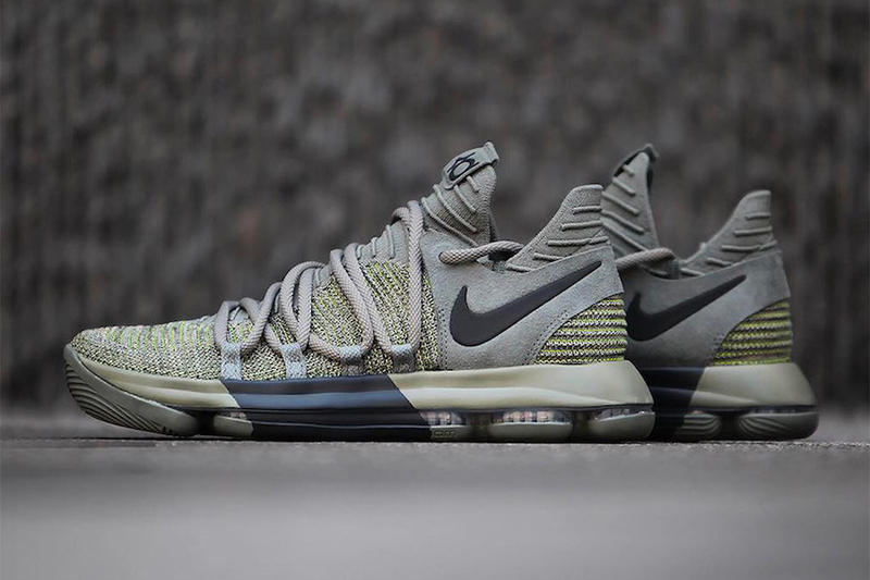 Nike KD 10 Dark Stucco Kevin Durant Fall Winter 2017