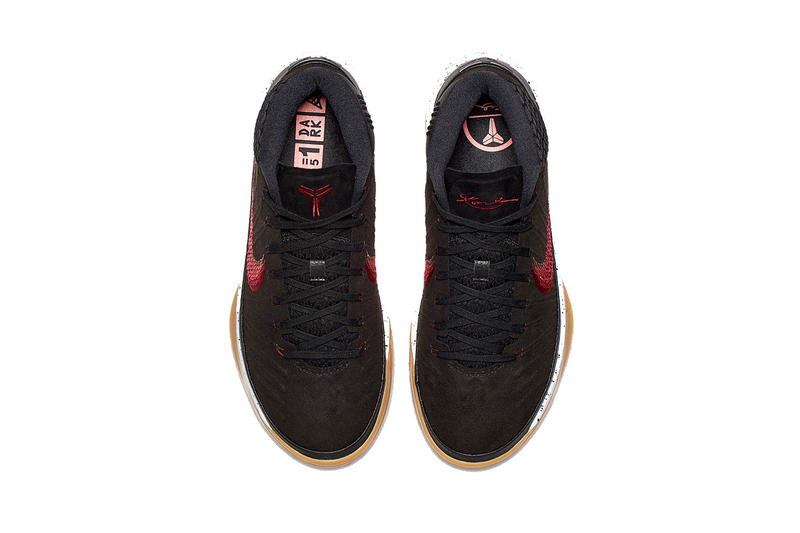 Nike Kobe A.D Mid  Black Suede Red