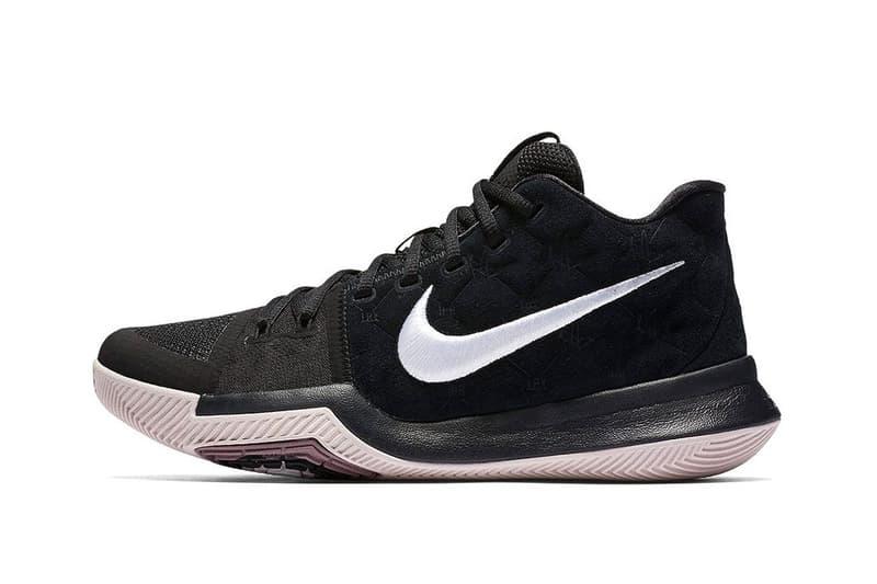 Nike Kyrie 3 Black Suede Kyrie Irving