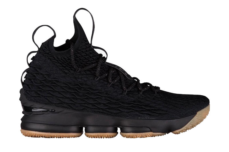 5ad4002de64 Nike LeBron 15 Black Gum LeBron James December 2017