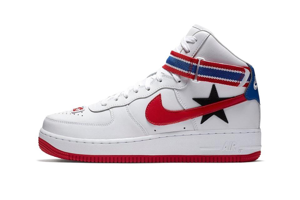 buy popular 87d26 8ba4d Riccardo Tisci x Nike Air Force 1 High Closer Look   HYPEBEAST