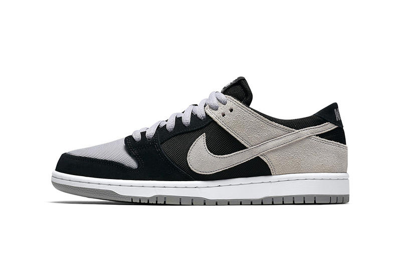 Nike SB Skateboarding Dunk Low Grey White Black Neutral Tones Shades Colors