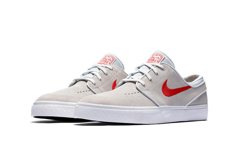 b13a177dfbce22 Nike SB Stefan Janoski Beige Light Brown Red Suede. 2 of 4