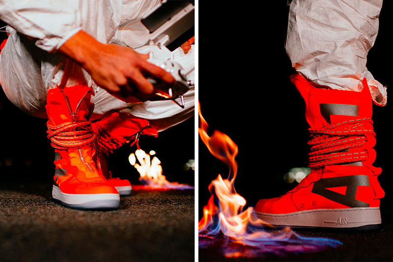 Nike SF-AF1 High Total Orange