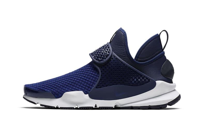 Nike Sock Dart Mid SE Navy White Black Footwear Release Info Drops Date