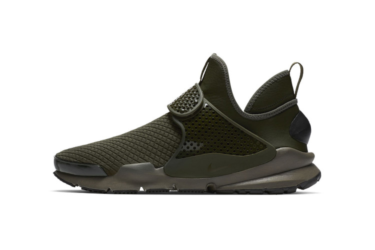 dfdb3509cd68d9 Your First Look at the Nike Sock Dart Mid SE in Olive