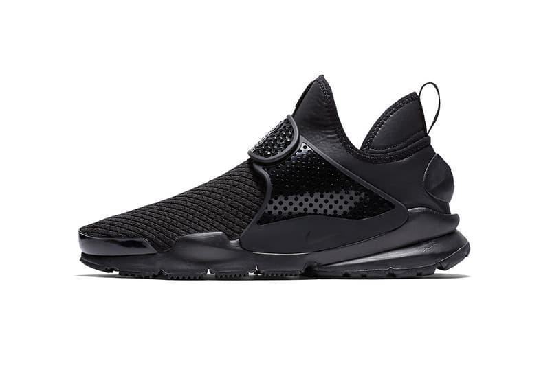 Nike Sock Dart Mid Triple Black 2017 October Fall Release Date Info Sneakers Shoes Footwear