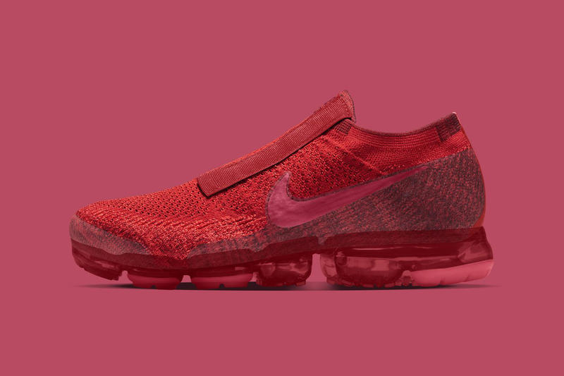 Nike VaporMax Laceless NIKEiD 2017 October December Flyknit europe european exclusive red teal purple blue royal violet