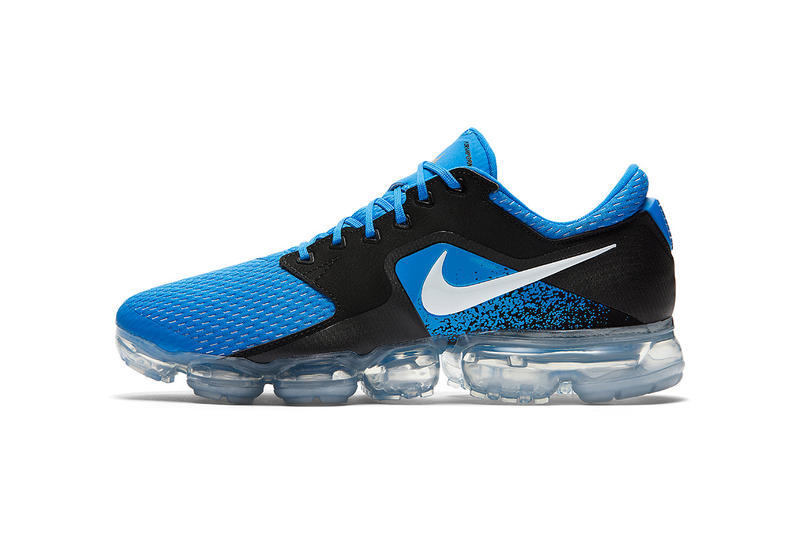 low priced a8a6f 0fb45 Nike VaporMax Mesh CS Blue Black Sneakers Release Info Date Drops November  2 2017