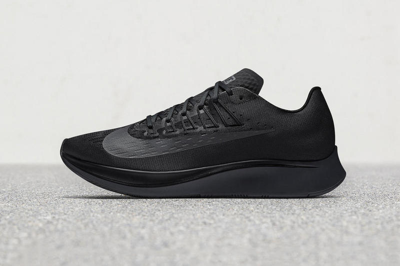 e9f1fb775039a Nike Zoom Fly Triple Black 2017 November 1 Release Date Info Sneakers Shoes  Footwear Drops