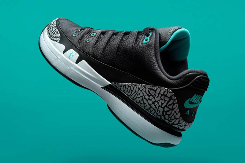 Nike Zoom Vapor Tour AJ3 atmos Elephant 2017 November 17 Release Date Info Sneakers Shoes Footwear