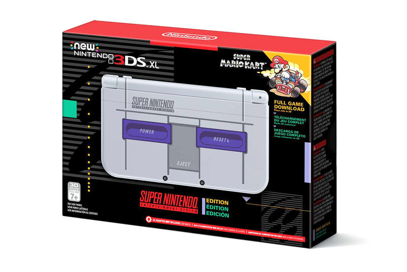 Nintendo 3DS XL SNES North America Amazon Release Date Info Details November December 2017