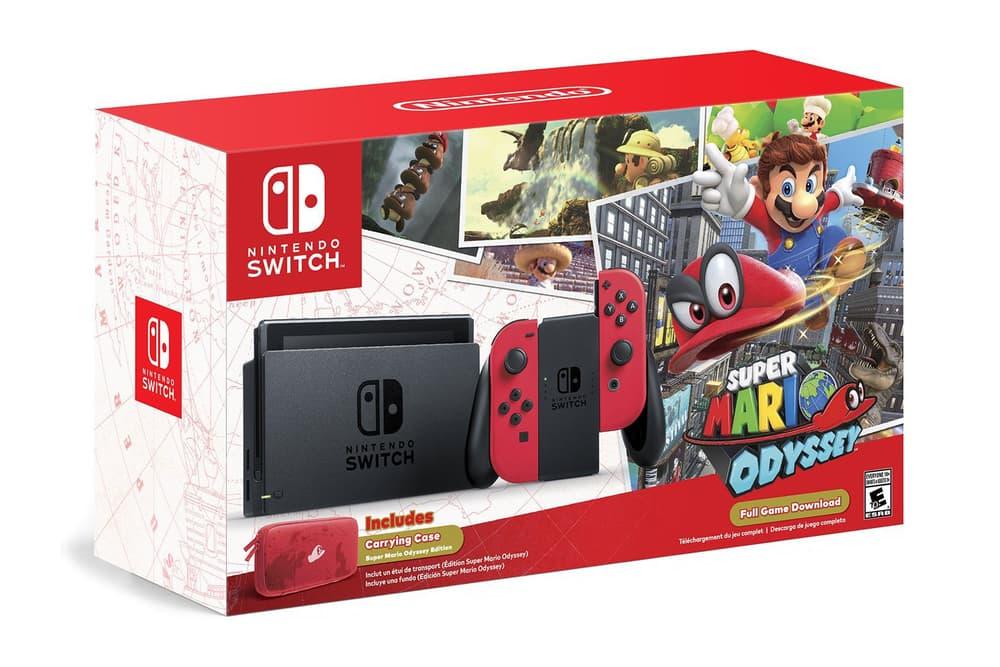 Nintendo Switch Amazon Restock 2017 Super Mario Odyssey Edition Bundle Grey Neon Joy Con