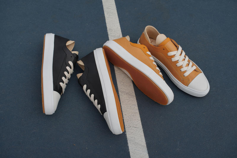 No.One LA Classic Cap Toe Basketball Shoe Charlie Leather