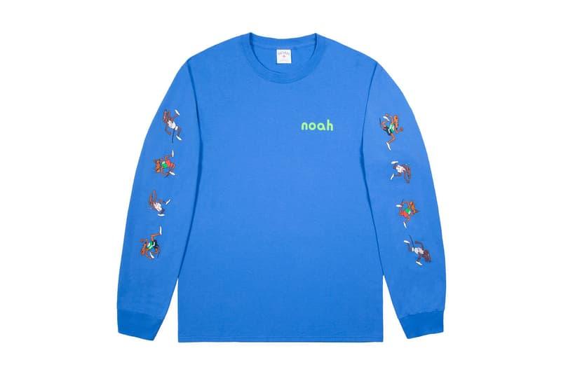 Noah Fall Winter 2017 Rat Race LS T Shirt Long Sleeve Tee 2017 October Release Date Info Dover Street Market London