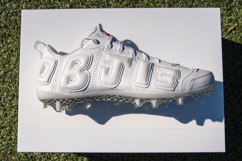 Odell Beckham Jr. Nike Air More Uptempo