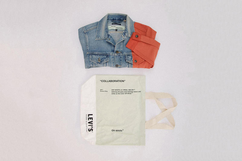 Off White Levis Made Crafted Collaboration Denim Jacket 2017 October 19 Release Date Info Union Los Angeles