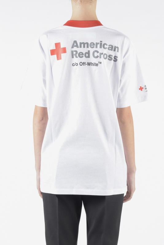 Off-White™ Princess Diana Tribute Charity T-Shirts Virgil Abloh American Red Cross British Lung Foundation