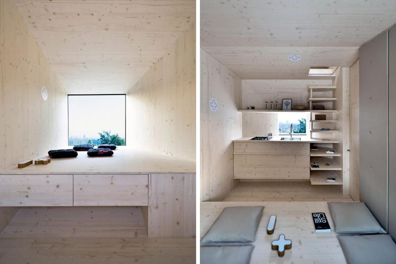 OFIS Arhitekti Modular Living Units Pop-up Library Ljubljana Slovenia
