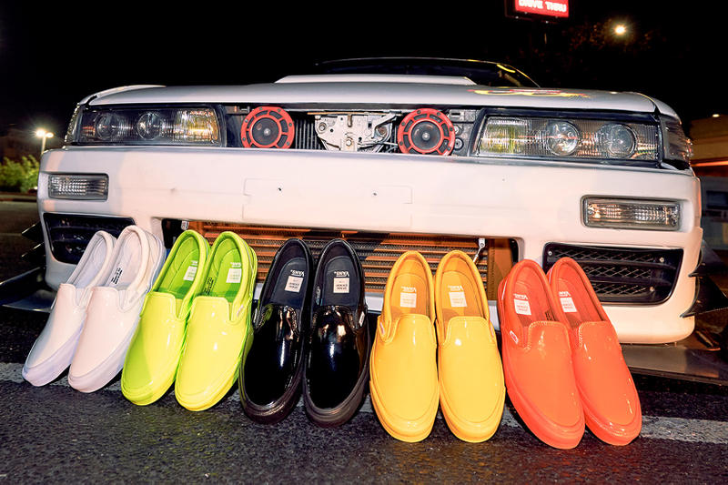 Opening Ceremony Vans Classic Slip On Patent Leather Pack 2017 October 6 Release Date Info Sneakers Shoes Footwear