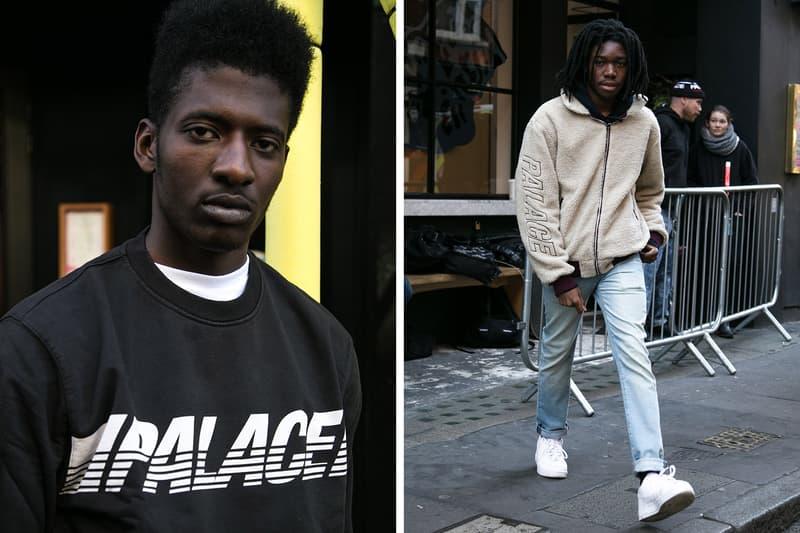 Palace 2017 Fall Winter Drop London Street Style Photography