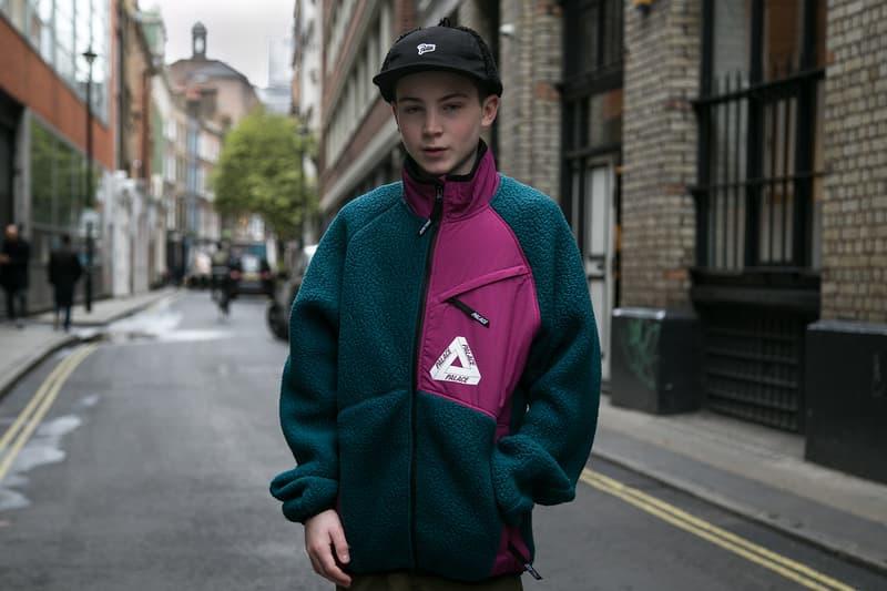 Palace Fall Winter 2017 Drop London Streetsnaps Street Style Gucci Stripe