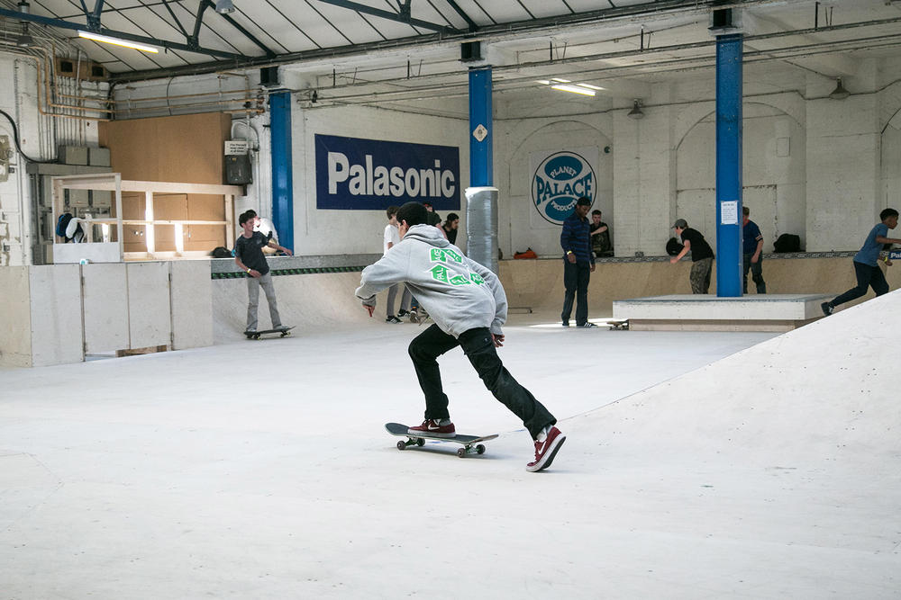 Palace London MWADLANDS Skateboarding Skaters Skatepark addias