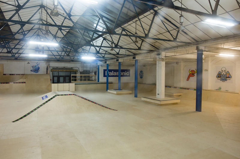 Palace Mwadlands Peckham London Skate Park