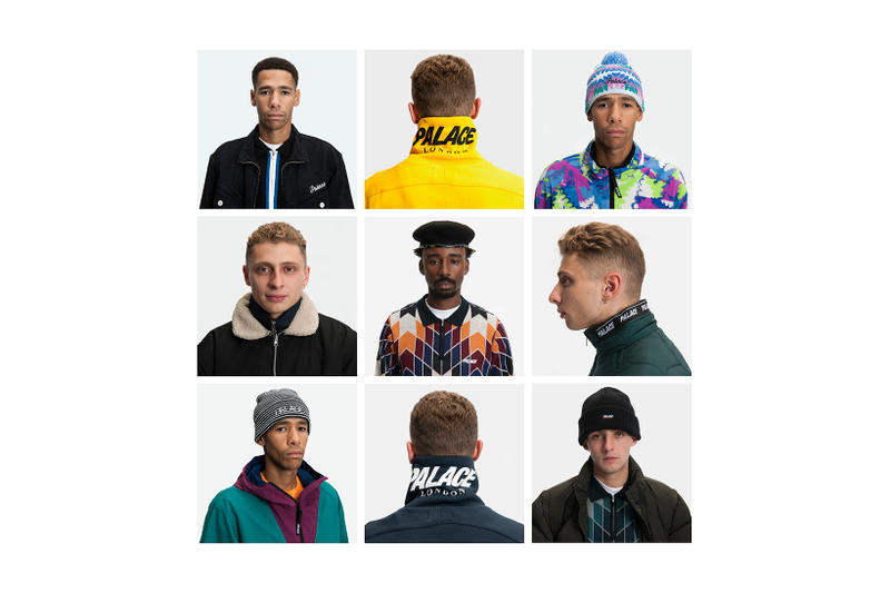 Palace Winter 2017 Collection Lookbook