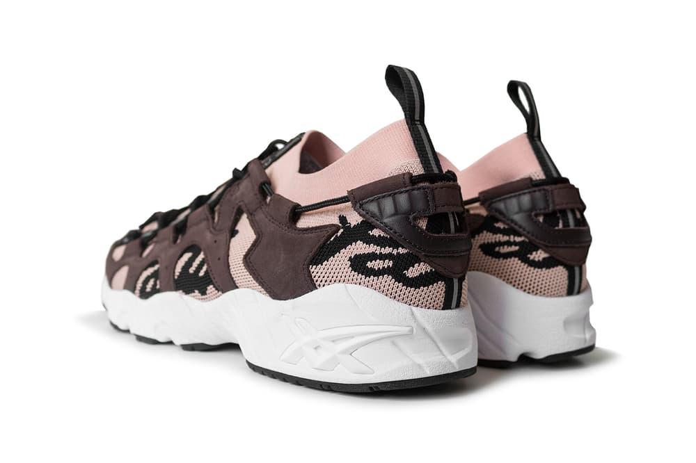 Patta ASICS GEL Mai Knit Rose Cloud Black Collaboration 2017 October 18 Release Date Info Sneakers Shoes Footwear November 4