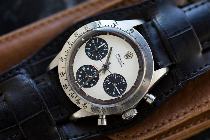 Paul Newman Daytona Rolex Worlds Most Expensive Wristwatch Timepiece Watch