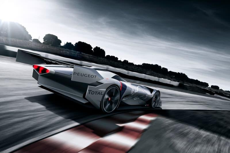 Peugeot L750 R Hybrid Vision Gran Turismo Video Game Car Racer