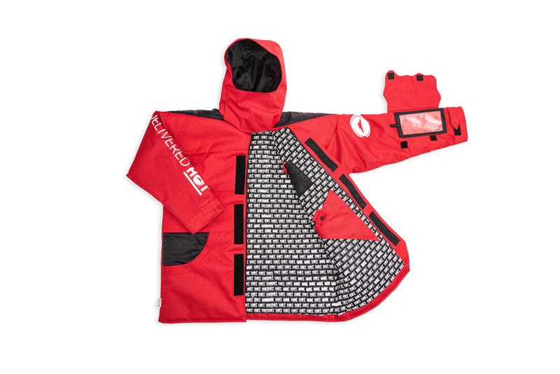 Pizza Hut Pizza Parka thermal technology Delivery System National Pizza Month 3M Thinsulate Insulation Red Limited Edition