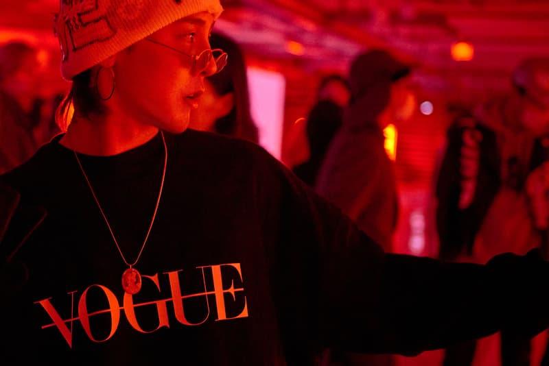 Peaceminusone Vogue Korea Pop-up G-Dragon Seoul Fashion Week